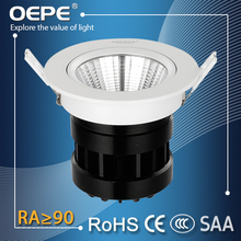 Cob 20W Led Spot Light Downlight Cut Out 120mm Vacuum Coating+UV Protective Film Led Cob Spotlight