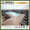Outdoor terrace wood texture plastic wood plank flooring anti-uv wpc flooring