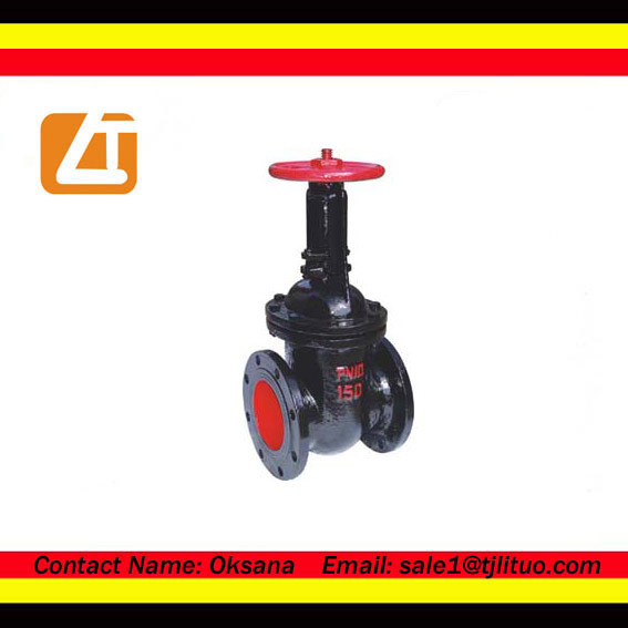 ss304 full lug ending knife gate valve 2