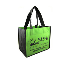Promotion recycled foldable non woven PP shopping bag