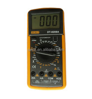 PROTABLE handheld DIGITAL MULTIMETER dt9208a
