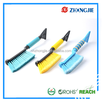 Multi Function steady quality Snow Brush Ice Scraper with short handle