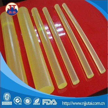 Size OEM yellow transparent PU rods