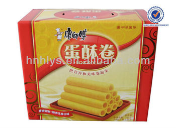 New Design Custom Food Corrugated Box