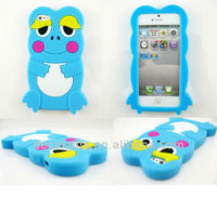 Hot-selling cute animal silicone mobile phone case