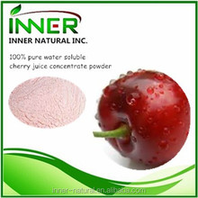 100% pure water soluble cherry juice concentrate powder
