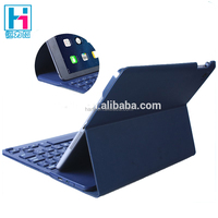 Ultra Slim Keyboard WIth Leather Cover Case For iPad Air 2 PU Leather With Slim Wireless Keyboard For iPad Air