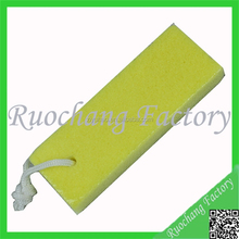 Promotional 4 in 1 pedicure file , pumice stone, nail brush , foot rasp plastic handle