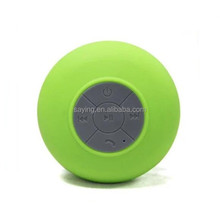 Mushroom Waterproof Bluetooth Speaker With Silicon Suction Cup for best selling
