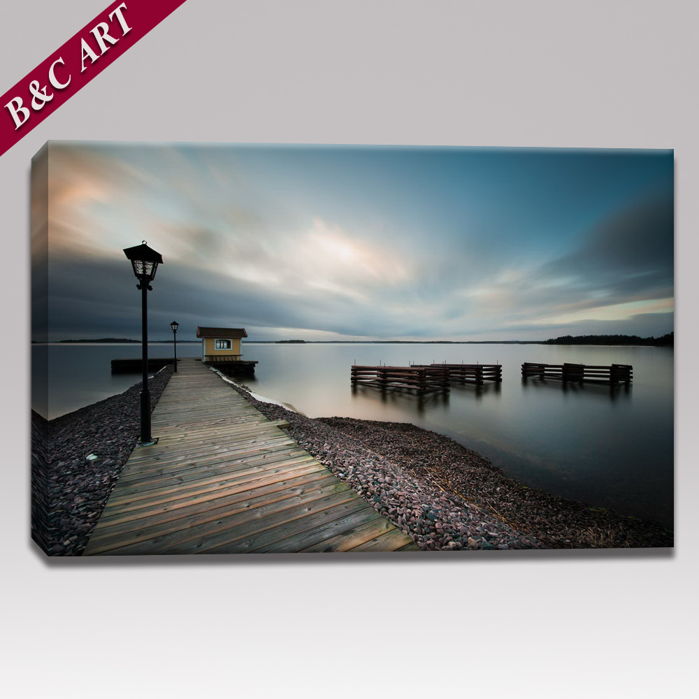 Modern Seascape Printings Large Canvas Print No Frame With Custom Size