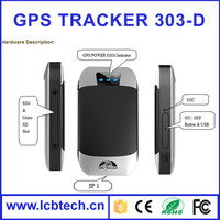 Newest model GPS 303-D gps vehicle tracker system with ACC/Door/Engine control