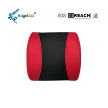Hot Sale Red color Memory Foam Lumbar Back Support Cushion