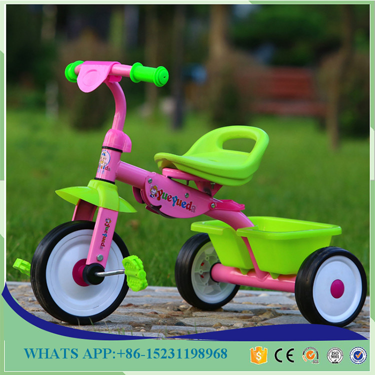 NewSpeed Miniature Kids Tricycle 3 Wheels Pedal Manual Tricycle Baby Tricycle