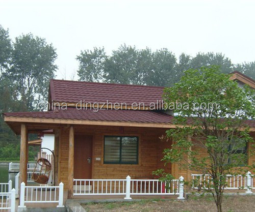 Metal Roofing Tiles with light Weight Synthetic spanish Roof Tile
