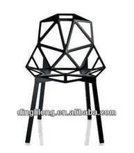 modern design hollow matel structure leisure chair