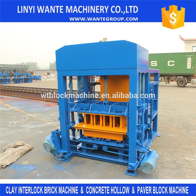 QT4-25 big capacity Automatic concrete hollow block making machine South Africa