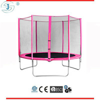 10ft pink air bouncer inflatable trampoline