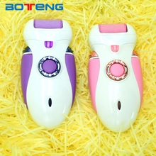 Factory price rechargeable velvet smooth pedicure foot callus remover