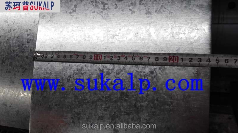 Galvanized narrow steel strips