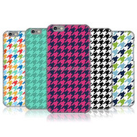 HOUNDSTOOTH PATTERNS Custom Design Plastic For Iphone case