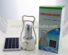 Portable Solar Lantern Led With Charger Function