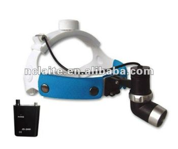 CE CERTIFICATE Surgical dental lamps portable LED headlight dental 1W & 3W LED ENT DENTAL headLamp