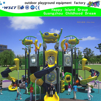 Alien series fantastic outdoor playground equipment for children