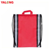 Promotional Reusable Standard Size 210 D Polyester Shopping Bag