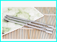 Nail Art Stainless Steel Cuticle Pusher Remover Trimmer Set Salon Tool New