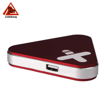 New triangle slim power bank 3000mah Paypal available factory wholesale