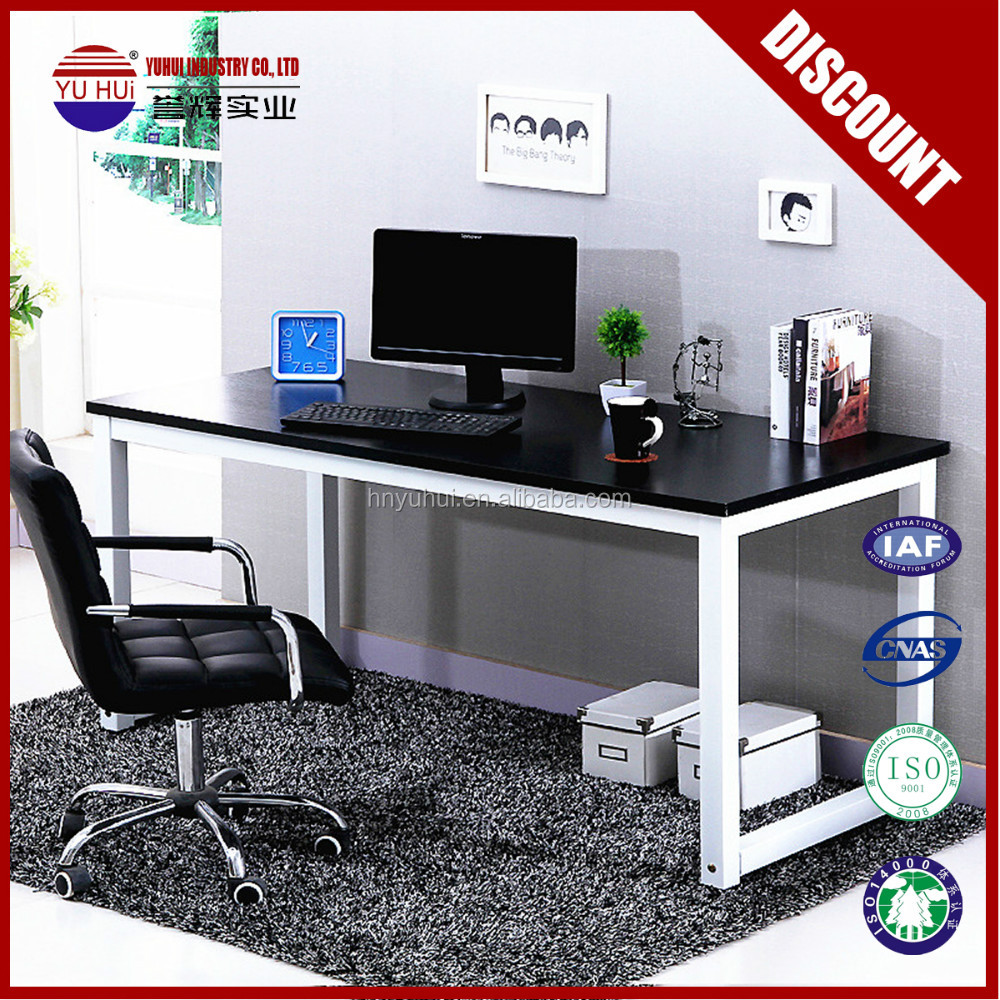 home furniture black office desk