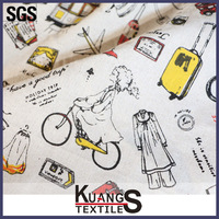 coated cotton canvas fabric for bags