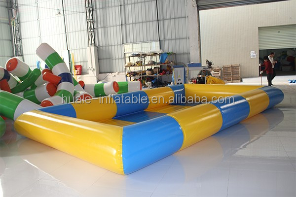 Commerical large 0.9mm PVC tarpaulin inflatable pool for kids play