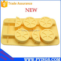 new fashion lemon handmake silicone molds wholesale moldes de silicona