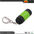 Hot Selling Fashion 1 mode Mini USB Led Keychain Torch