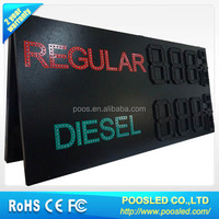 Regular/Diesel digit LED gas price sign led display