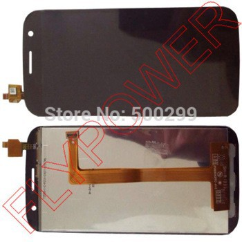 "100% New Touch Screen digitizer + LCD Display assembly with ""Hasee"" Logo For ZOPO C7 ZP990 Black"