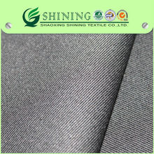 100% cotton fabric 20*16/128*60 twill for pants