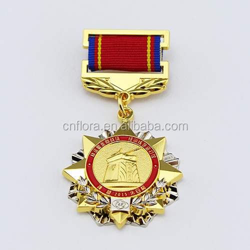 military gold medal war medal