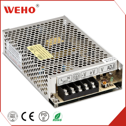 WEHO OEM S-60-12 60W 110V or 220V 12V 5A CCTV UPS Switching Model Power Supply