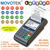 Movotek Lottery (Fixed Odds and Sports Betting) POS Machine with Thermal Receipt Printer
