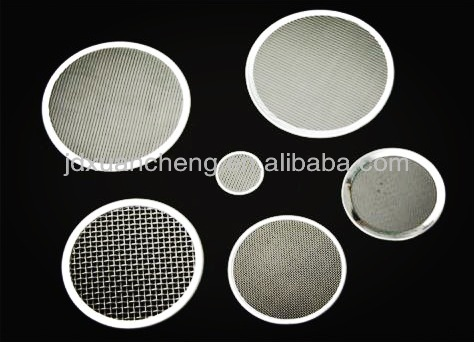 Stainless steel Extruder Filter Wire Mesh for Plastic extrusion