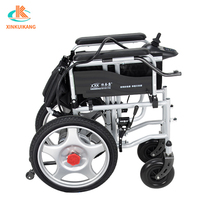 Portable fold up mobility wheelchair four wheel electric walker