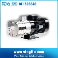 Singflo SHL IP55 10 bar high pressure stainless steel centrifugal pump price