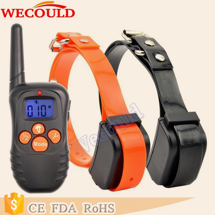 Remote Control Dog Training Collar,LCD +Vibration +Beeper No Static Shock collar