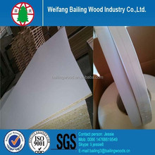 Furniture kitchen melamine particle board with edge banding
