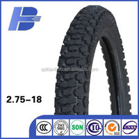 New pattern motorcycle tire/ 2.75-18 motorcross tire / Qingdao tyre