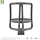 Office chair parts back frame plastic mesh back frame for massage chairs and furniture chairs hardware