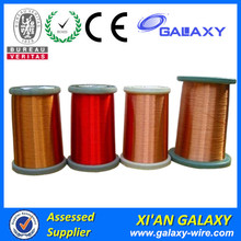 ISO9001 Certificated Ultra Fine Rectangular Winding Wire Motor Copper Enameled Tinned Flat Wire