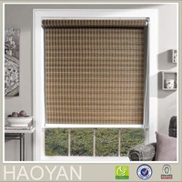 HAOYAN woven polyester paper roller blinds and shades